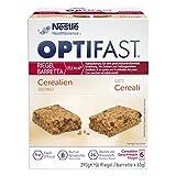 OPTIFAST KONZEPT Diät Riegel Cerealien zum Abnehmen | eiweißreicher Mahlzeitersatz zum Gewichtsmanagement | leckerer Geschmack kombiniert mit wichtigen Vitaminen und Mineralstoffen | 6 x 65g