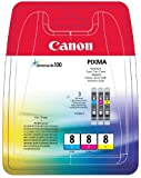 Canon 0621B029 Tintenpatronen cyan/magenta/gelb (3x13ml)