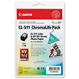 Canon CL-511 ChromaLife Pack, 100 Blatt GP501 10 x 15 cm