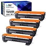 LxTek Kompatibel Tonerkartusche als Ersatz für Brother TN1050 für DCP-1510 DCP-1610W DCP-1612W HL-1110 HL-1112 DCP-1512 HL-1210W HL-1212W MFC-1910W MFC-1810 (Schwarz, 4er-Pack)