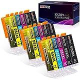 Zambrero 550 551 Kompatible Patronen Ersatz für Canon PGI-550 CLI-551 für Canon PIXMA MX925 IP7250 IP8750 MG5650 IX6850 MX725 MG5550 MG6350 MX920 (5 Farben, 5er Pack)