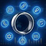 CZX Smart-Ring, R4 Intelligenter Ring Tragbares Gerät NFC Magischer Ring Wasserdicht Gesunde...