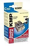 KMP C5D Druckpatrone Doppelpack (schwarz)