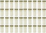 Beste Choice Grablicht Brenner Nr. 3 Weiss mit Deckel   Grabkerzen   Friedhofskerzen   Grablichtkerze   Trauerlicht   Gedenkkerze   Grabdekoration   Grabdeko (40er Pack)