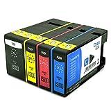 4X Office Channel24 TintenPatronen kompatibel zu Canon PGI1500XL BK C M Y für Canon Maxify MB 2050 MB 2350 MB2150 MB2750 MB2755 MB2155