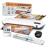 GREEED® A4 Laminiergerät – Thermo Laminierset mit Eckenrunder und Blattschneider, praktischer...