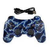Lioeo PS3 Controller Wireless Gamepad für Playstation 3 Bluetooth Game Controller Fernbedienung...