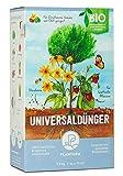 Plantura Bio Universaldünger mit 3 Monaten Langzeitwirkung, Pflanzendünger, für kraftvolle Pflanzen, 100% tierfrei & Bio, gut für den Boden, unbedenklich für Hund, Haus- & Gartentiere, Naturdünger