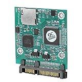 TF-Karte zu SATA Adaptermodul, 32 GB SD-Kartenkapazität, 22MB / sec, SD SATA, SD zu SATA, MMC SATA,...