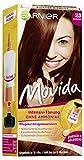 Garnier Movida Intensive-Tönung ohne Amoniak/Pflege-Creme/Kur mit Aprikosenmilch/ Grauabdeckung/Farbton: Kastanie 23