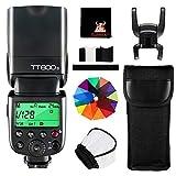 GODOX TT600S Kamera Blitzgerät 2.4G HSS 1/8000s GN60 Speedlite Blitz Kompatibel mit Sony Kameras...