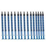 REYOK 100 Stück 1 ml Spritze, Einmalspritzen Plastik Spritzen Dosier spritze Füllvolumen Spritze Spritzen-Set Kunststoff Spritze für Gartengebrauch oder Industrielle Nutzung