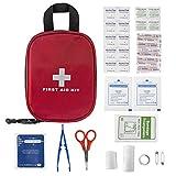 PLUSINNO Erste Hilfe Kit,Medizinische Verbandkasten,Verbandtasche für Zuhause,Reise,Fahren,Sport und im Freien (31 Pieces)
