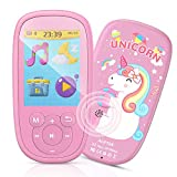 """Bluetooth MP3 Player Kinder, AGPTEK Einhorn Video Player 2,4"""" Bildschirm, Musik Player mit..."""