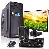 dcl24.de [11832] Office Komplett PC Set Intel i9-9900 8x3.1 GHz - 32GB DDR4, 480GB SSD & 2TB HDD,...