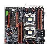 Buwei X99 Dual Server Computer Motherboard LGA2011-3 CPU DDR4 Speicherspiel Mainboard Modul für...