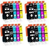 Supply Guy 20 Druckerpatronen mit Chip kompatibel mit Canon PGI-525 CLI-526 für Pixma IP4850 IP4950 IX6550 MG5140 MG5150 MG5240 MG5250 MG5300 MG5340 MG5350 MX715 MX885 MX895