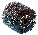 Fartools 110869 Schleifbandbürste Ø 120 mm – L 100 mm, kompatibel mit REX120, REX200 und REX-H200 zum Schleifen und Entgraten