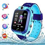 Wasserdichte Student Kinder Smartwatch Telefon - Touchscreen Kinder Smartwatch, Anruf Voice Chat LBS...