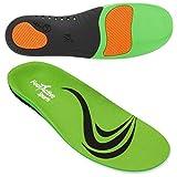 FootActive SPORT - Einlegesohlen für Sport, Freizeit und Beruf, Green, 42 - 43 (Medium)