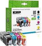 KMP Tintenpatronen Kompatibel mit HP 920 XL 3-Farbig und Schwarz für HP Officejet 6000/6500/7000