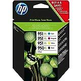 HP original - HP - Hewlett Packard OfficeJet Pro 8615 e-All-in-One (950XL/951XL / C 2 P 43 AE#301) - Tintenpatrone MultiPack black cyan magenta