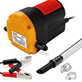 Deuba Monzana® Ölabsaugpumpe 12V 80 Watt 4l/min - Ölpumpe Absaugpumpe Pumpe Dieselpumpe Öl elektrisch