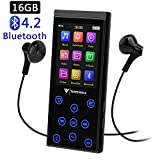 16GB Bluetooth MP3 Player, tragbarer störungsfreier HiFi Musikplayer mit FM-Radio/Voice-Recorder,...