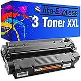 Tito-Express PlatinumSerie 3X Toner-Patrone XXL Schwarz für Canon FX-8 ImageClass PC-D320 PC-D340 PC-D383 PC-D420