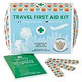 Yellodoor Mini Erste Hilfe Set – 84-TLG. für Unterwegs, Reise, Wandern, Zuhause, Outdoor, in wasserfestem Etui, leichte und kompakte Verbandstasche für die Erstversorgung