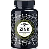 DiaPro Hochdosierte Zink-Tabletten mit 25 mg bioverfügbarem Zink pro Tablette aus Zink-Bis-Glycinat. 365 Stück Jahresvorrat. 100% Vegan. Laborgeprüft. Made in Germany.