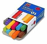 Kreda bezpylowa kolorowa 10 sztuk