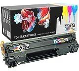Tonerkartusche kompatibel zu HP Laserjet Pro P1100 P1102 P1102w M1212nf M1213nf M1217nfw M1132 MFP Canon i-SENSYS LBP-6000 LBP-6018 LBP-6020 LBP-6020B MF-3010 - SCHWARZ