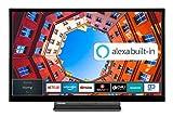 Toshiba 32LK3C63DA 32 Zoll Fernseher (Full HD, Smart TV, Prime Video / Netflix, Alexa Built-In,...