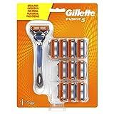 Gillette Fusion5 Rasierer, mit 11 Rasierklingen