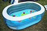 MENGHYUAN Faltungspool, aufblasbarer Schwimmbad mit Kindern, Pool mit Meeresbügel, Watschpool, Gartenpool, aufblasbarer Wasserpark Party Spielzeug Fengong Mengheyuan