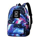 Galaxy bedruckte Schultertasche Old School Walkman Fashion Casual Star Sky Rucksack für Jungen und Mädchen