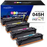 GPC Image 045H Toner Kompatibel für Canon CRG-045H 045 für Canon i-SENSYS MF635Cx MF633Cdw LBP613Cdw MF631Cn LBP611Cn MF632Cdw MF634Cdw MF636Cdwt LBP612cd Patrone (Schwarz Cyan Magenta Gelb, 4er-Pack)