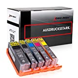 5X Logic-Seek Tintenpatrone kompatibel für PGI580 CLI581 XXL Multipack für Canon Pixma TR8550 TS705 TS6350 TS8350 TS9150 TS9550