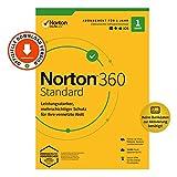 Norton 360 Standard 2020, 1-Gerät, Antivirus, Secure VPN unlimited, Passwort-Manager, PC/Mac/Android/iOS, Aktivierungscode per Email