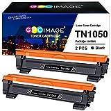 GPC Image Kompatible Tonerkartusche als Ersatz für Brother TN1050 für DCP-1510 DCP-1512 DCP-1612W DCP-1610W HL-1110 MFC-1910W MFC-1810 HL-1112 HL-1210W HL-1212W(Schwarz, 2er-Pack)