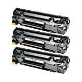 3 Toner kompatibel für Canon EP22 LBP 1110 1120 250 350 I-Sensys LBP 800 810 Lasershot LBP 1120 1100 Series 1110 SE 22 X 5585 I P 420-1550A003 - Schwarz je 2500 Seiten