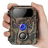 Victure Mini Wildkamera 16MP 1080P Fotofalle mit Bewegungsmelder Nachtsichtgerät IP66 wasserdichtem...