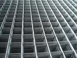 Drahtgitter Volierendraht Maschendrahtzaun FEUERVERZINKT für Volieren , Käfige , Schweißgitter und Drahtzäune Viereck 8 x 8 mm 1 m Höhe 10 m Länge