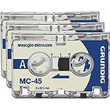 Grundig GGM4500 Diktiergeräte - Zubehöre Micro-Kassette MC45 3 Stück