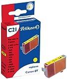 Pelikan Druckerpatrone C21 ersetzt Canon BCI-6Y, Gelb