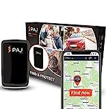 PAJ GPS Allround Finder Version 2020- GPS Tracker etwa 20 Tage Akkulaufzeit (bis zu 60 Tage im...