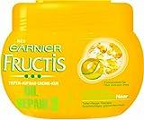 Garnier Fructis Oil Repair Tiefen-Aufbau Repair Creme Kur, Haarkur für trockenes, 3er Pack (3 x 300 ml)