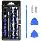 Diyife 62 in 1 Schraubendreher Set mit 56 Bits Magnetische Schraubendrehersatz Werkzeugset, für Handy, Tablet, PC, MacBook, Uhr etc