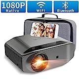 Beamer Full HD WLAN Bluetooth - Artlii Energon2 7500 Lumen Native 1080P LED Beamer WiFi Unterstützt...
